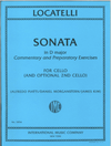 International Music Company Locatelli (Morganstern): Sonata in D major: Commentary and Preparatory Exercises For Cello (and optional 2nd cello) (two cellos) IMC