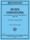 International Music Company Beethoven (Morganstern): 7 Variations on 'Bei Mannern, welche Liebe fuhlen', WoO 46 (cello and piano) IMC