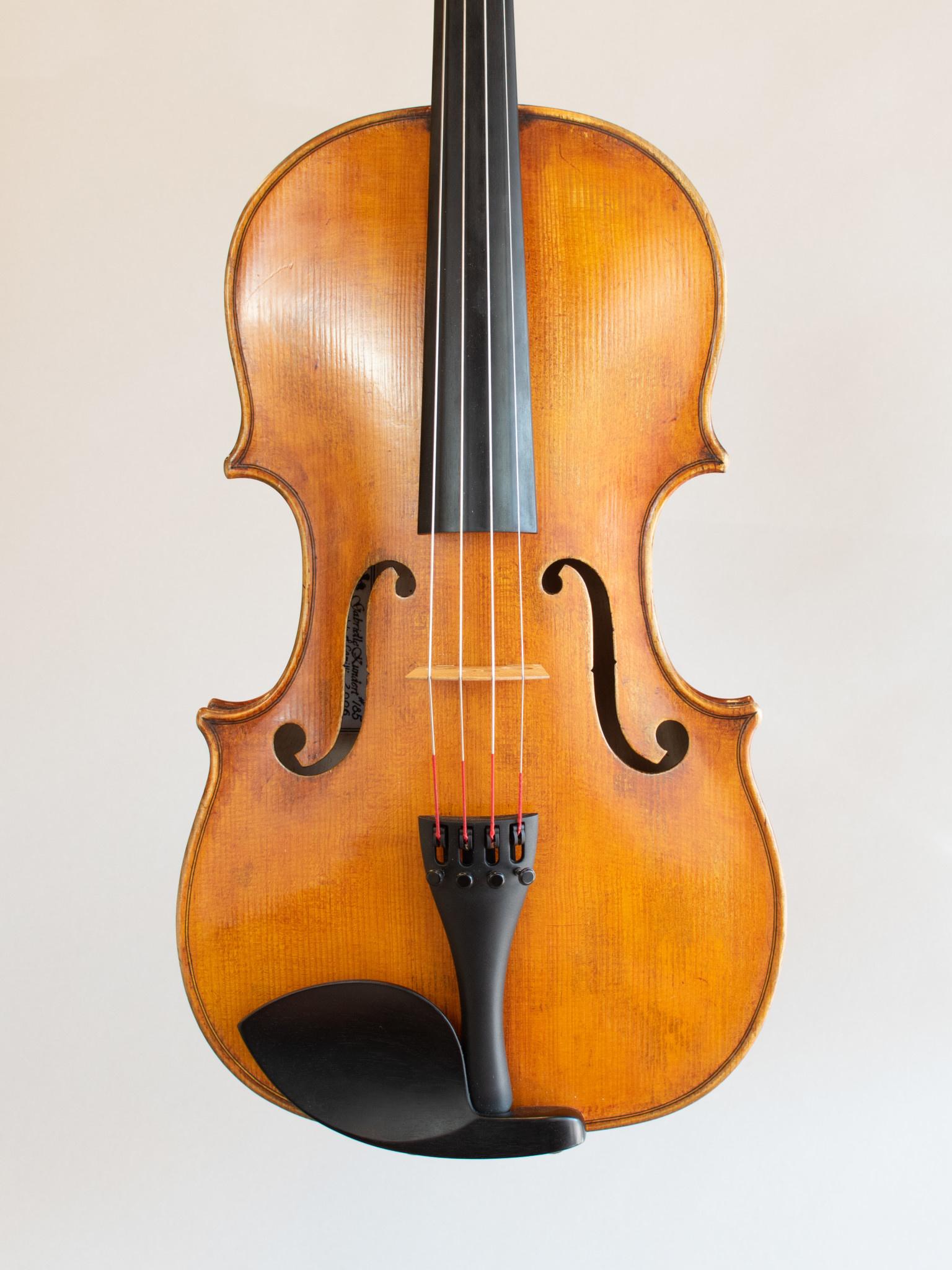 "16 1/8"" Gabrielle Kundert viola, #185, 2006"