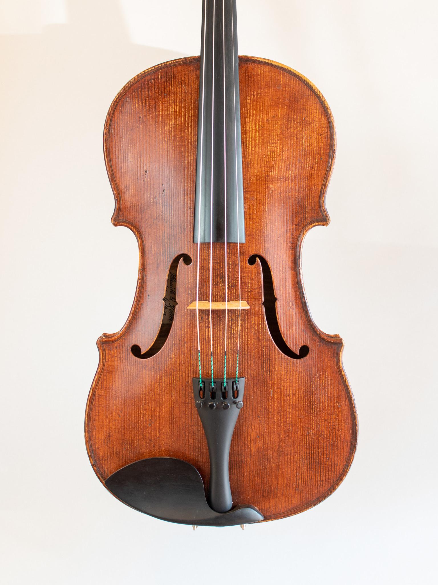"""Helmuth Keller 16 5/8"""" viola, #51, 1970, Philadelphi, USA"""