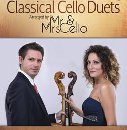 HAL LEONARD Classical Cello Duets: Arranged by Mr & Mrs Cello (cello duets) HL