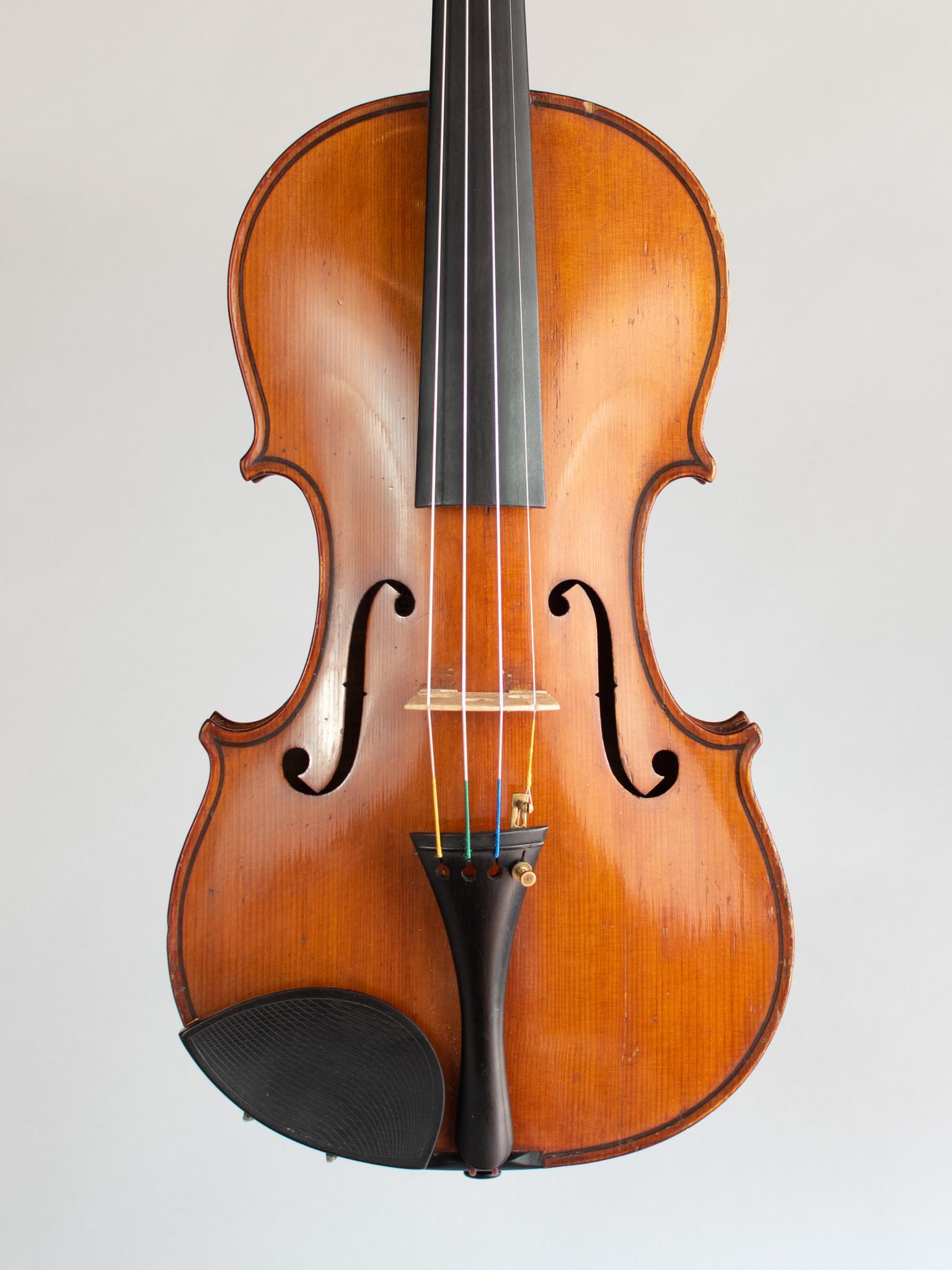 Eduard Reichert violin, Dresden, 1908