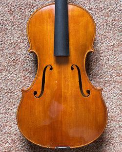 "Wm. & Loid Tennison 16.75"" Tertis model viola, 1955, Ft. Worth Texas, USA"