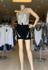 Silver V Shorts