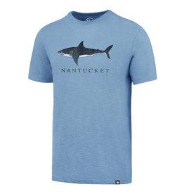 47 Brand 120: 47 Unisex Tee Shark