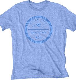 Blue 84 165: Blue 84 Unisex Tee Wave Circle