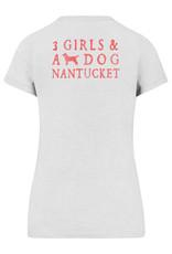 47 Brand 47 Ladies V Neck Tee 3 Girls Logo