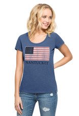 47 Brand 47 Ladies Tee Scoop Flag