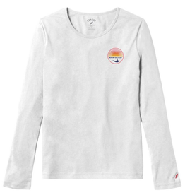 League 355: League Ladies Long Sleeve Tee