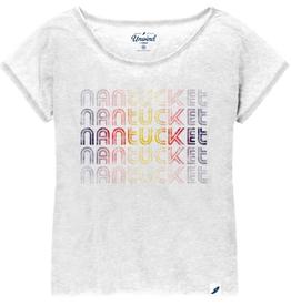 League League Ladies Tee Stacked Nantucket
