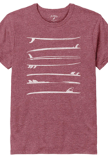 League League Unisex Tee Stacked Surfboards