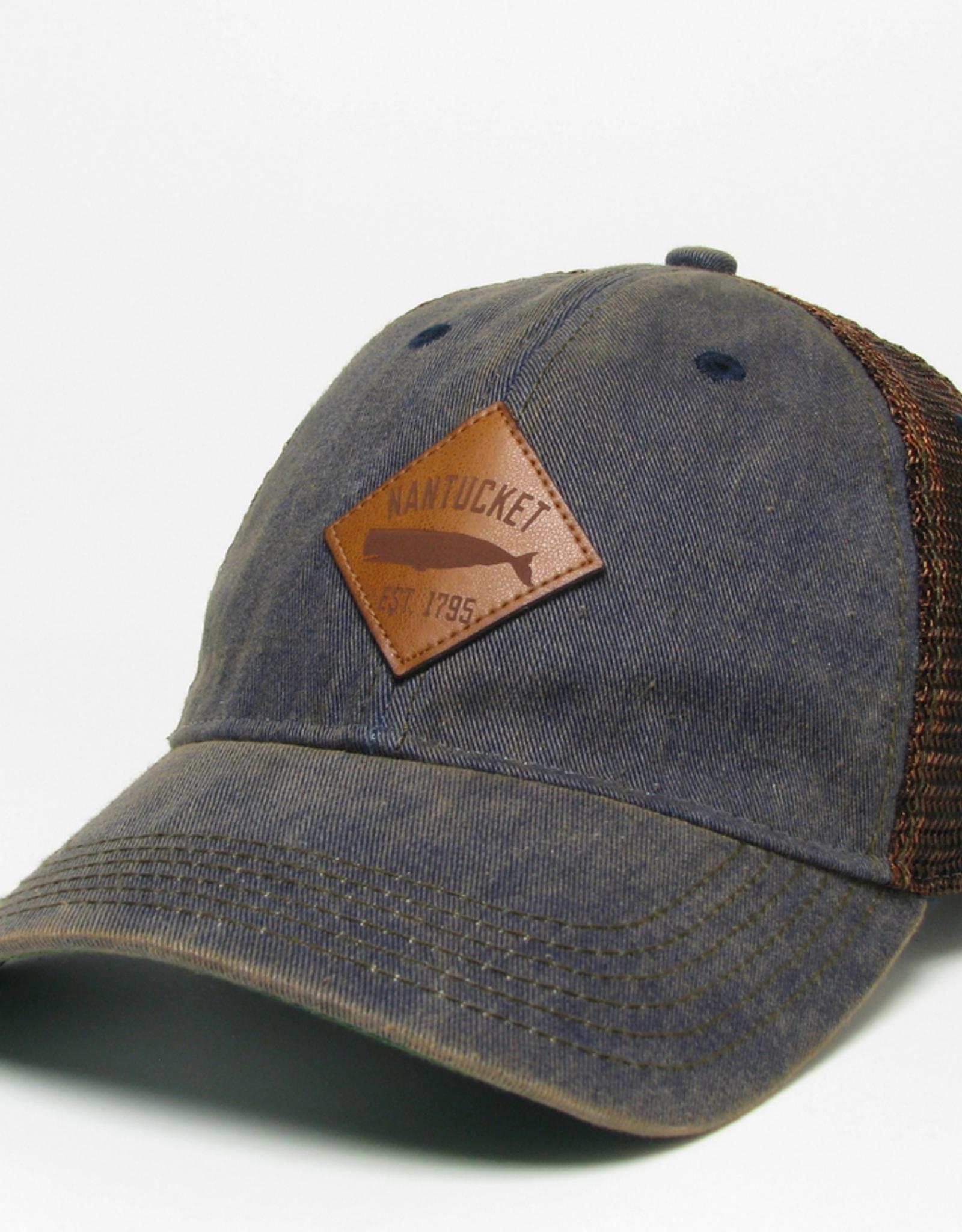 Legacy Legacy Trucker Hat Diamond Whale Patch