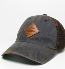 Legacy 438: Legacy Trucker Hat Diamond Whale Patch