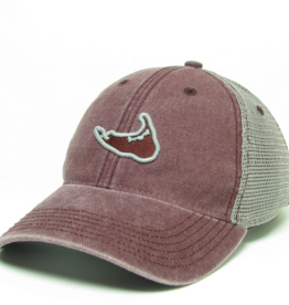 Legacy 439: Legacy Trucker Hat Island Outline