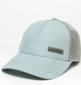 Legacy 458: Legacy Suede Trucker Hat
