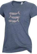 Alternative Apparel Alternative Ladies Tee Stacked Whales