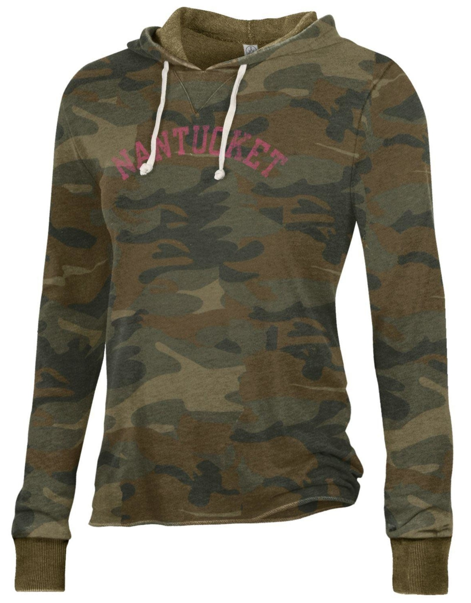 Alternative Appareal Alternative Ladies Camo Pullover Hoodie