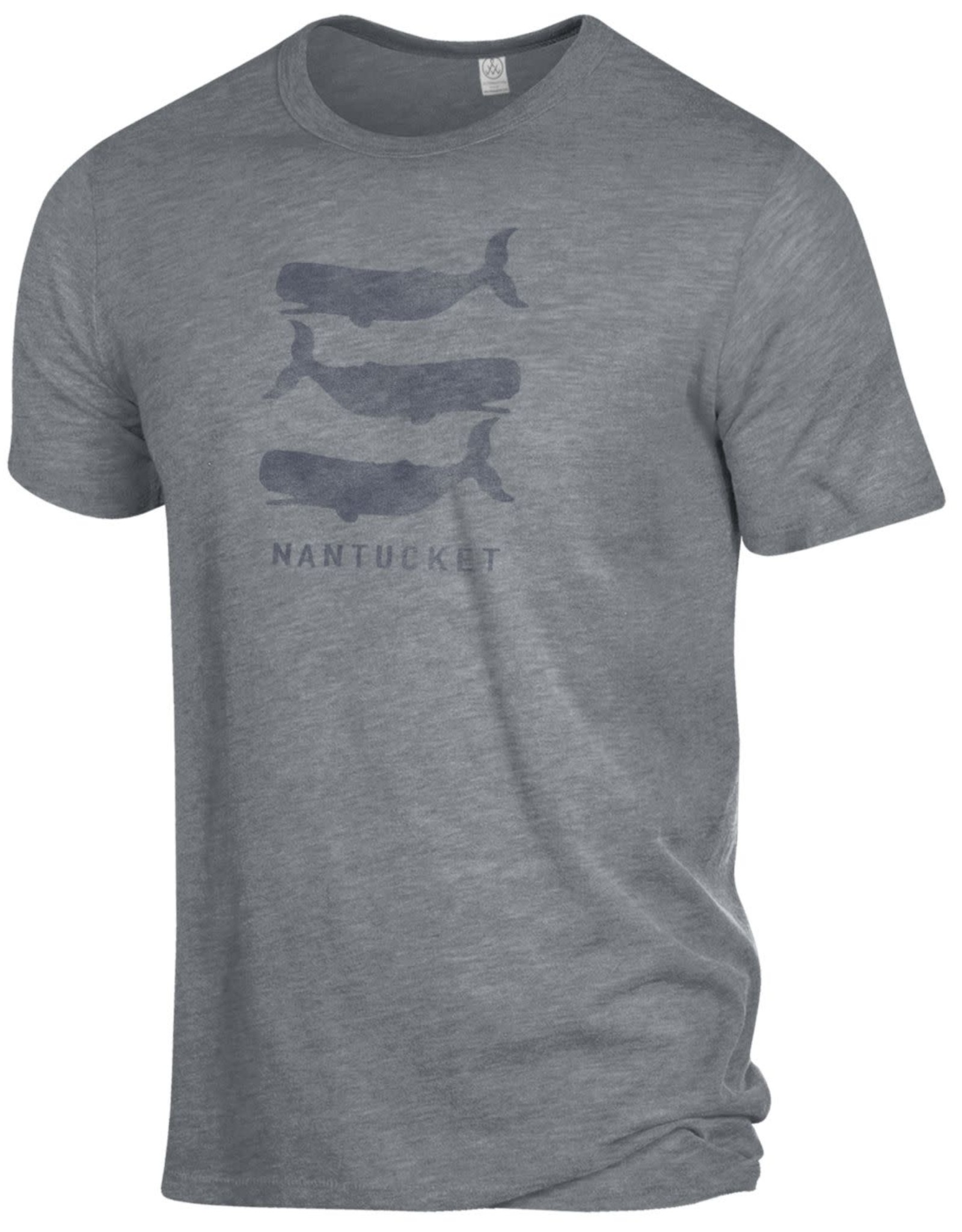 Alternative Appareal Alternative Unisex Tee Stacked Whales