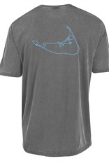 Outta Town Outta Town Unisex Tee Island Outline