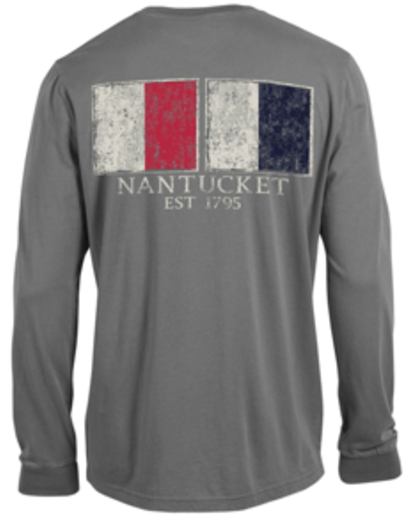 Outta Town Outta Town Unisex Long Sleeve Nautical Flags