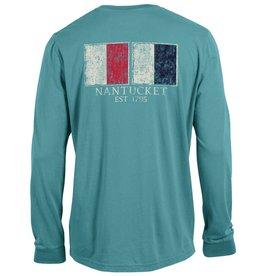 Outta Town 244: Outta Town Unisex Long Sleeve Nautical Flags