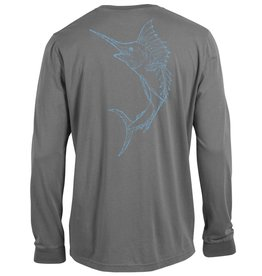 Outta Town 243: Outta Town Unisex Long Sleeve Swordfish