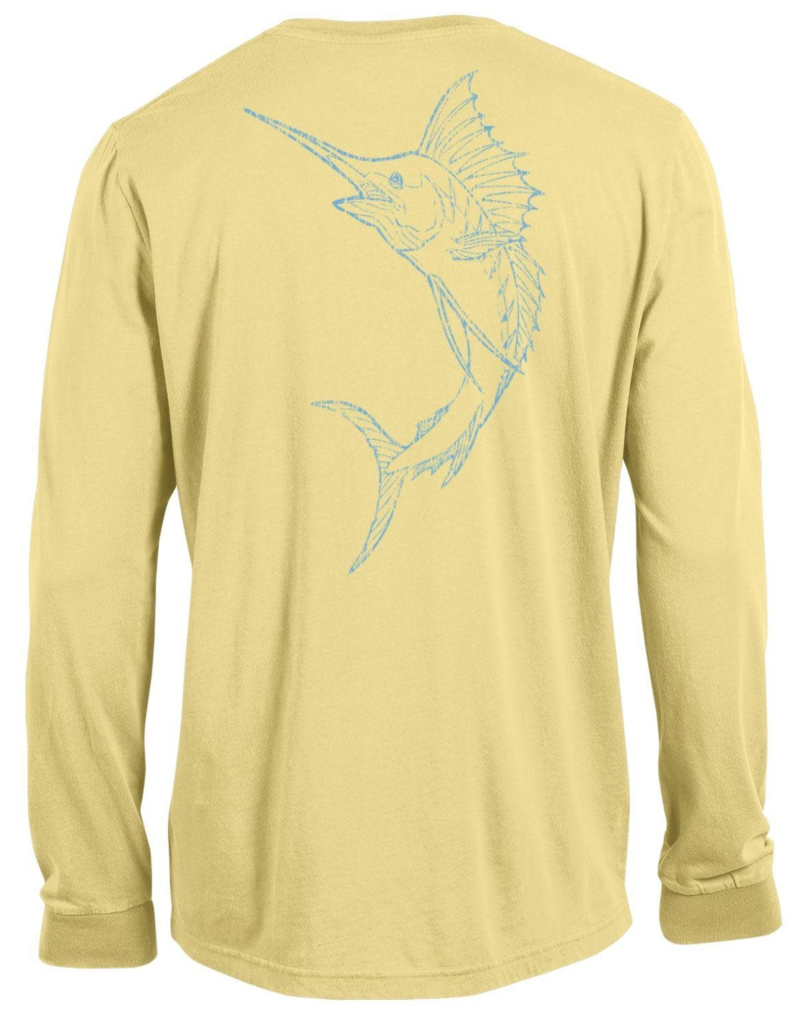 Outta Town Outta Town Unisex Long Sleeve Swordfish