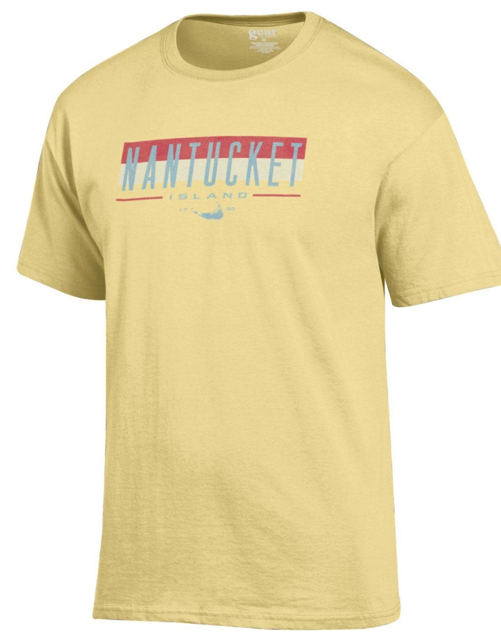 Gear Gear Mens Tee Colorblock Nantucket