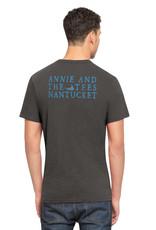 47 Brand 47 Unisex Tee Annie Logo