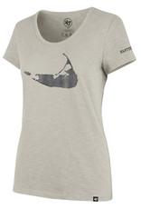 47 Brand 47 Ladies Scoop Tee Island