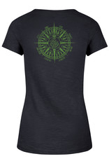 47 Brand 47 Ladies V Neck Tee Compass