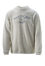 Austins Austins Unisex Crew Neck Terry Loop with Crossed Oars