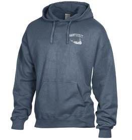 Comfort Wash 26: Comfort Wash Unisex Pullover Hoodie Left Chest Arc over Island