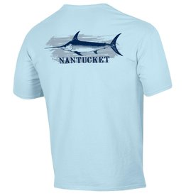 Comfort Wash 155: Comfort Wash Unisex Tee Swordfish Over Nantucket