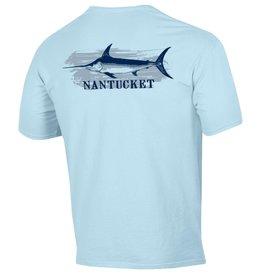 Comfort Wash 155: Comfort Wash Unisex Tee Swordfish Over Nantucket