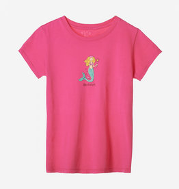 Blue 84 510: Blue 84 Youth Tee Jasmine Mermaid
