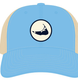 Richardson 452: Richardson Hat Trucker Island Rubber Patch