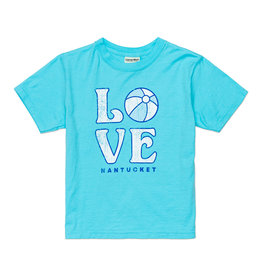 "Comfort Wash 527: Comfort Wash Youth Tee ""Love"" Beach Ball"