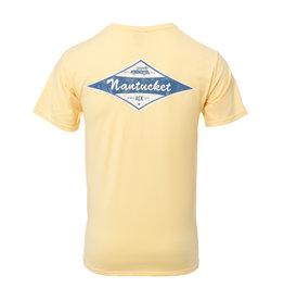 Comfort Wash 106: Comfort Wash Mens Tee Nantucket Diamond