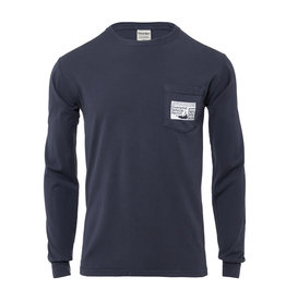 Comfort Wash 202: Comfort Wash Unisex Long Sleeve Pocket Oversand