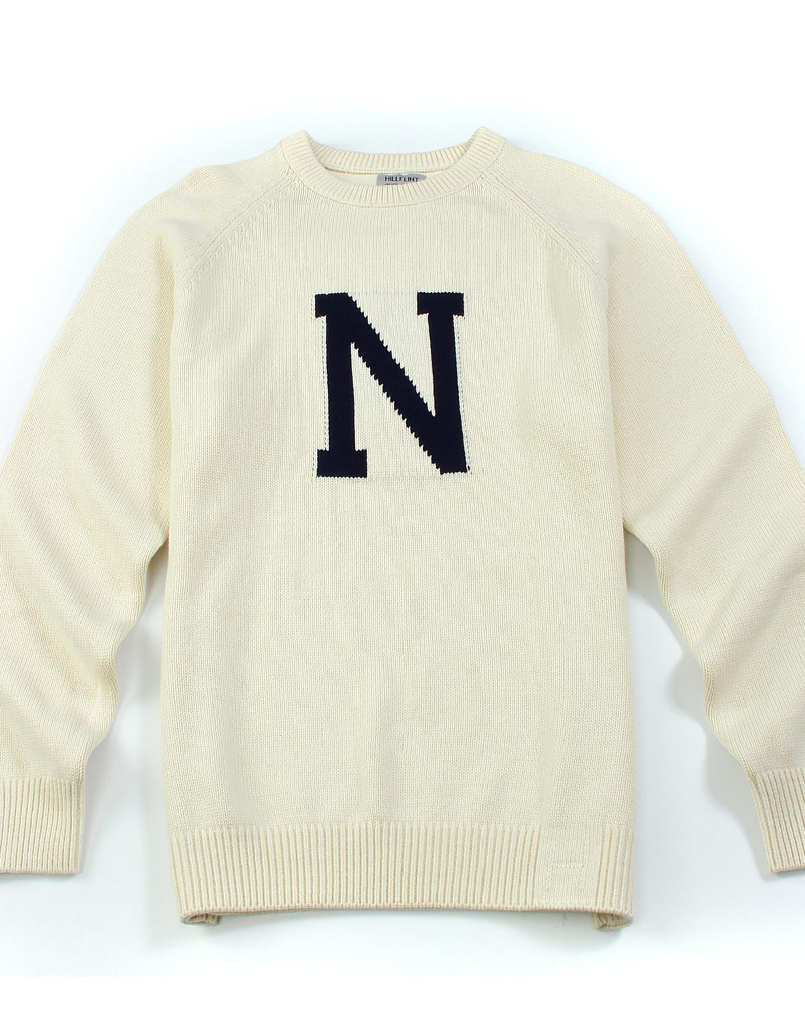 """Hillflint Hillflint Unisex Crew Neck Sweater """"N"""""""