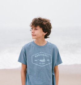 Comfort Wash Comfort Wash Youth Tee Nantucket Island Badge