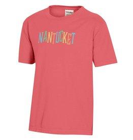 Comfort Wash Comfort Wash Youth Tee Rainbow Nantucket