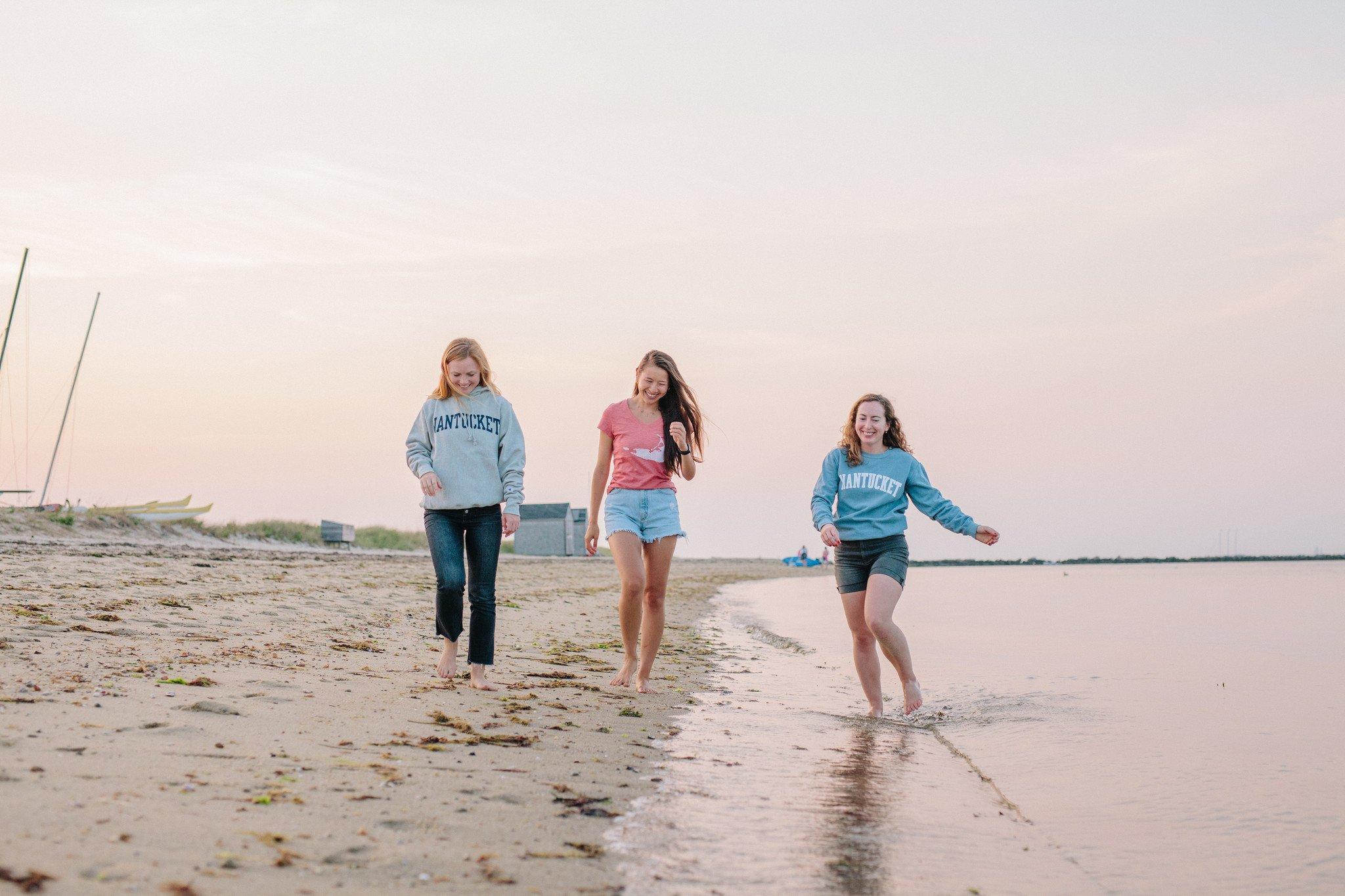 Nantucket sweatshirts and t-shirts