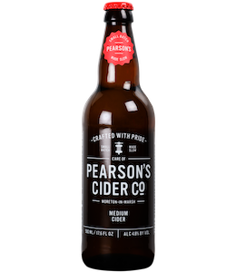 Pearson's Medium Cider 500ml Bottle