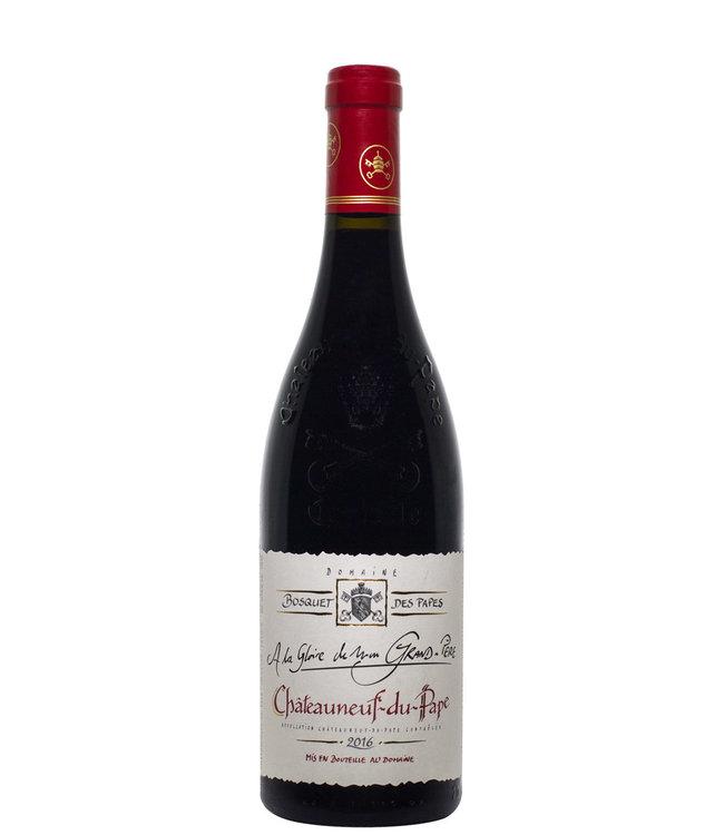 Bosquet des Papes Chateauneuf du Pape Rouge A La Gloire de Min Grand-Pere 2016