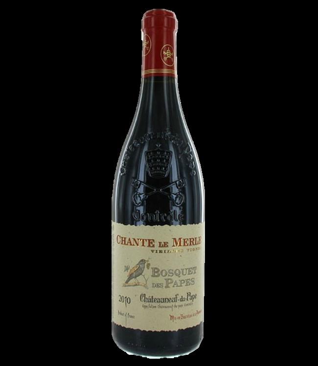 Bosquet des Papes Chateauneuf du Pape Rouge Le Merle 2016
