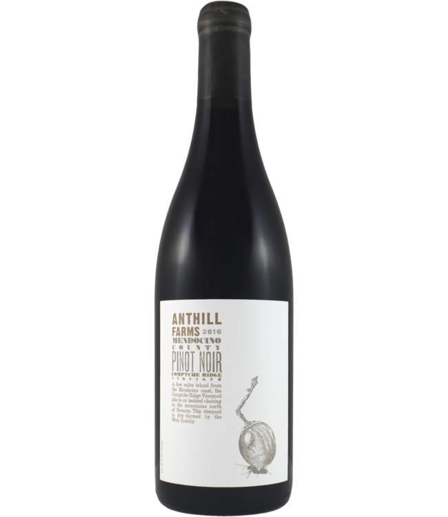 Anthill Farms Comptche Ridge Pinot Noir 2016