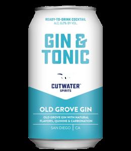 Cutwater Gin Tonic 12oz