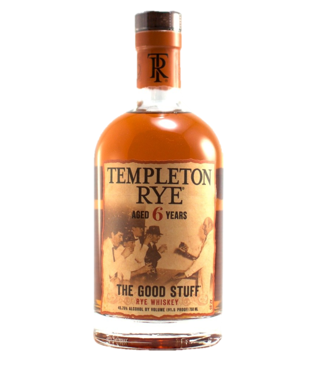 Templeton 6yr Rye Whisky